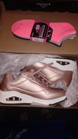 Used Sketchers Shoes, color Rose Gold in Dubai, UAE