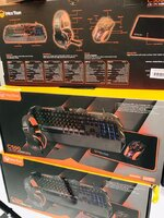 Used Gaming Headset Keyboard Mouse combo in Dubai, UAE