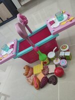 Used Minnie Picnic + Food Toys + Puzzle bundl in Dubai, UAE