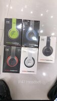Used New. P47 Bluetooth headset $% in Dubai, UAE