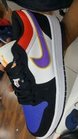 Used Nike air jordan 1 low in Dubai, UAE