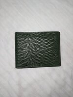 Used Antique green wallet / in Dubai, UAE
