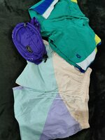 Used 3 Itembundle: 2 shorts and 1 purple bag in Dubai, UAE