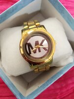 Used MK Watch Gold in Dubai, UAE