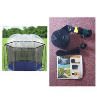 Used Trampoline water sprinkle in Dubai, UAE