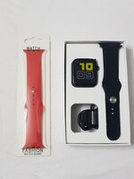 Used Smart watch T900 free 1 band red in Dubai, UAE