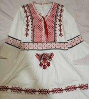 Used White Top with Embroidery work in Dubai, UAE