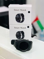 Used SMART WATCH WITH SIM AND MEMORY CARD in Dubai, UAE