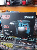 Used Boss drill machine in Dubai, UAE