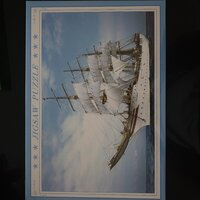 Used Jigsaw Puzzl (white ship) in Dubai, UAE