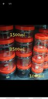 Used Made in itlay jars 6 pcs💣💣💣 in Dubai, UAE