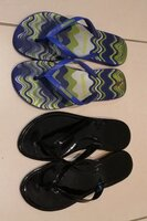 Used 2 slippers size 39 in Dubai, UAE