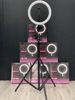 Used RING LIGHT WITH STAND NEW in Dubai, UAE