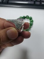 Used 925 Sterling Silver archery Ring 14 size in Dubai, UAE