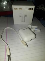 Used I9s tws airpodd friday must buy in Dubai, UAE