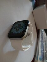 Used Apple Rubber white band only in Dubai, UAE