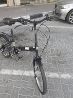 Used Coleman Japanese folding bike in Dubai, UAE