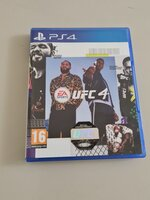 Used UFC 4 - PS4 - As New in Dubai, UAE