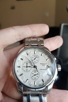 Used Tissot Watch Chronograph Silver♥️ in Dubai, UAE