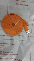 Used Iphone:3meters USB lightning cable:New in Dubai, UAE