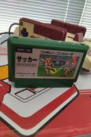 Used NES nintendo famicom game SOCCER in Dubai, UAE