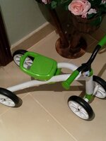 Used Chillafish Quadie Ride-On Lime in Dubai, UAE