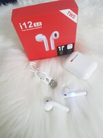 Used New I 12 airpod red.box in Dubai, UAE