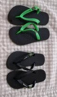 Used 2 slippers Ipanema size 27-29 in Dubai, UAE
