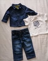 Used Denim set 6 months in Dubai, UAE
