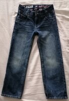 Used Original Tommy Hilfiger jeans size 4-6 y in Dubai, UAE