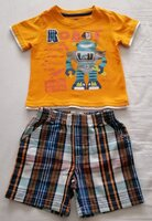 Used Short and t-shirt size 24 months in Dubai, UAE