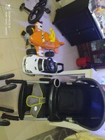 Used stroller Baby Relax, rechargeable plane, in Dubai, UAE