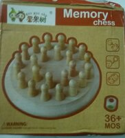 Used Wooden Memory Match Stick Chess in Dubai, UAE