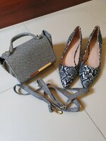 Used Bundle shoes and bag-Brand New in Dubai, UAE
