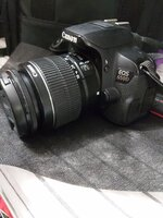 Used Canon 650D EOS camera in Dubai, UAE