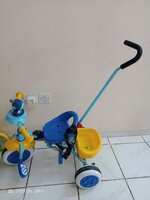 Used Push tricycle & skates for girl combo. in Dubai, UAE