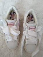 Used Brand new suede white flower in Dubai, UAE