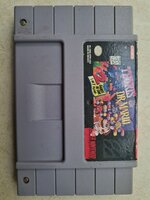 Used Super Nintendo 2 in 1 Tetris & Dr Mario in Dubai, UAE