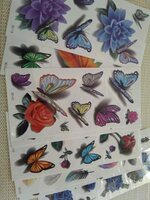Used 3D Tattoo sticker 10 pcs set in Dubai, UAE