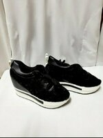 Used Ladies Thick-Soled Shoes Size 38 (New) in Dubai, UAE