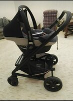 Used Mexicosi stroller new born baby excellen in Dubai, UAE