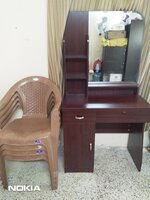 Used MAKEUP TABLE WITH CHAIR AND 4 MORE CHAIR in Dubai, UAE