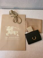 Used Authentic New Burberry Wallet in Dubai, UAE