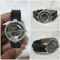 "Used Amazing black CHOPARD watch "" for her in Dubai, UAE"