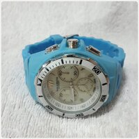 "Used Blue TECHNO MARINE watch "" brand new. in Dubai, UAE"