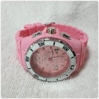"Used Pink TECHNO MARINE watch "" brand new. in Dubai, UAE"