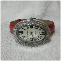 "Used Fabulous red CHANNEL watch "" for lady in Dubai, UAE"