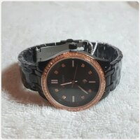 "Used Brand new black C watch "" for Lady.. in Dubai, UAE"