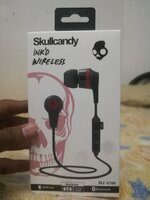 Used New box pack.Sculcandy bluetooth headset in Dubai, UAE