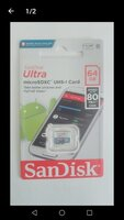 Used Sandisk memory card 64 gb in Dubai, UAE